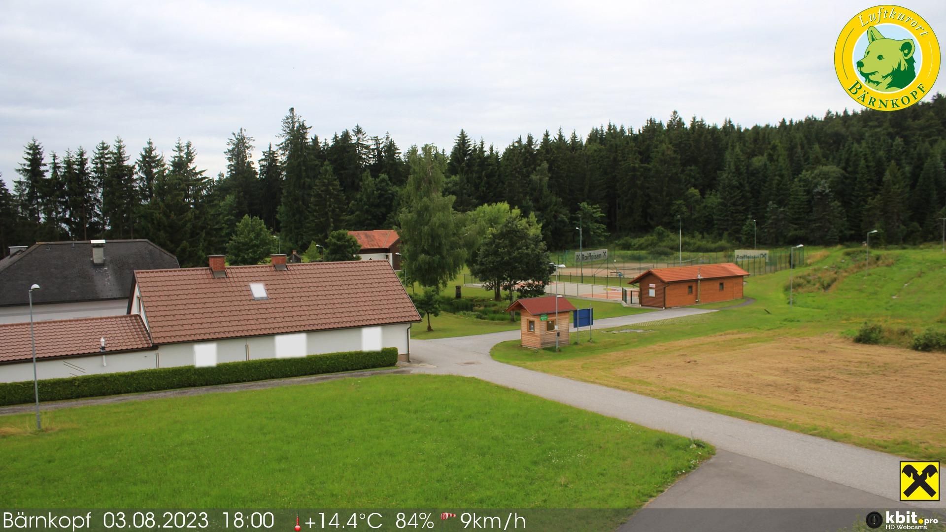 Aktuelle Livebilder aus dem Luftkurort Bärnkopf